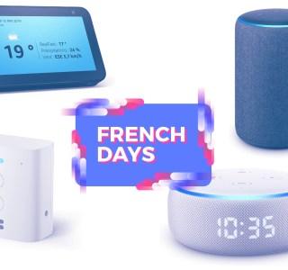 Tous les appareils Echo d'Amazon sont déstockés pour les French Days