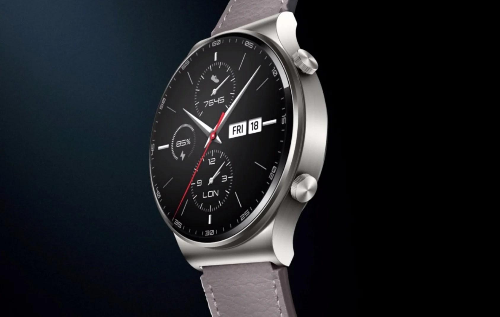 Huawei Watch GT 2 Pro officialisée : une montre qui a du chien et beaucoup d'autonomie