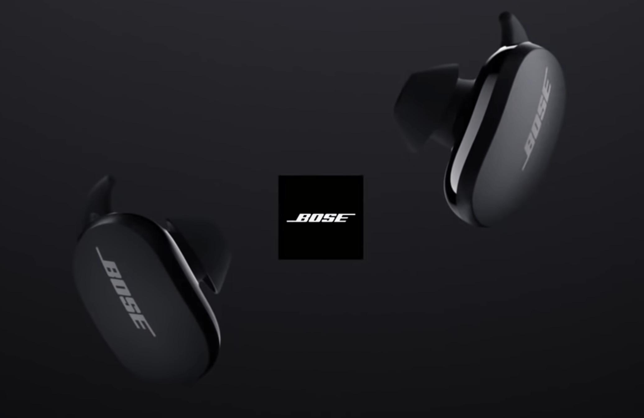 Bose QuietComfort Earbuds : une vidéo permet déjà de découvrir les écouteur à réduction de bruit