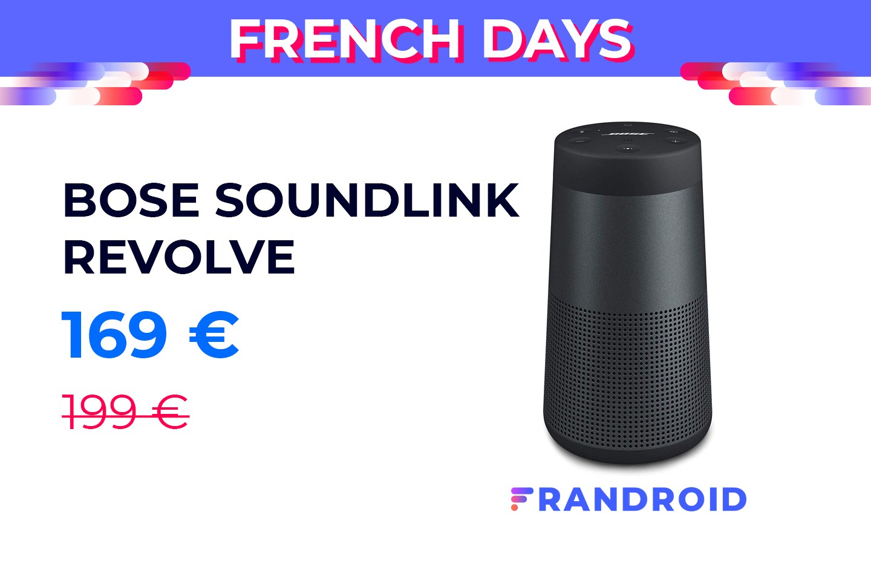 L'expertise Bose sur une enceinte portable pour 170 € durant les French Days