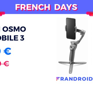 L'excellent stabilisateur DJI Osmo Mobile 3 est à prix réduit pour les French Days