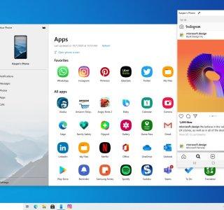 Your Phone : les apps Android de votre Samsung sur Windows 10