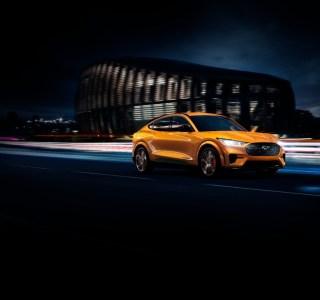 Ford Mustang Mach-E GT officialisée: le 0 à 100 km/h en moins de 4 secondes