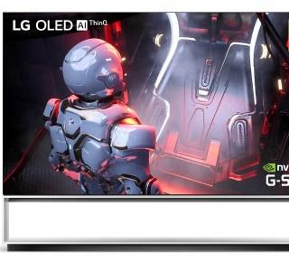 LG dévoile sa télé OLED 8K gaming avec compatibilité Nvidia G-SYNC