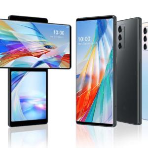 LG Wing officialisé : l'étrange smartphone à écran rotatif déploie ses ailes