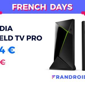 La Nvidia Shield TV Pro est en promo pour les French Days 2020