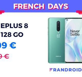 Le OnePlus 8 est 509 euros pour les French Days