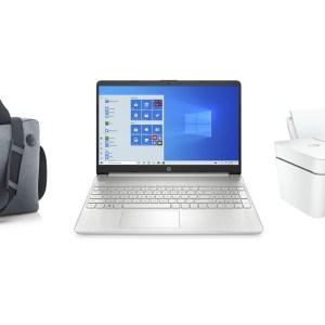 Un PC portable, une imprimante et une sacoche HP dans ce pack à 329 €