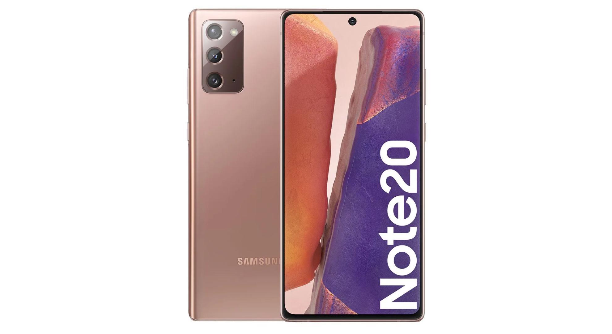 À peine sorti et déjà moins cher, le Samsung Galaxy Note 20 est disponible à 692 euros