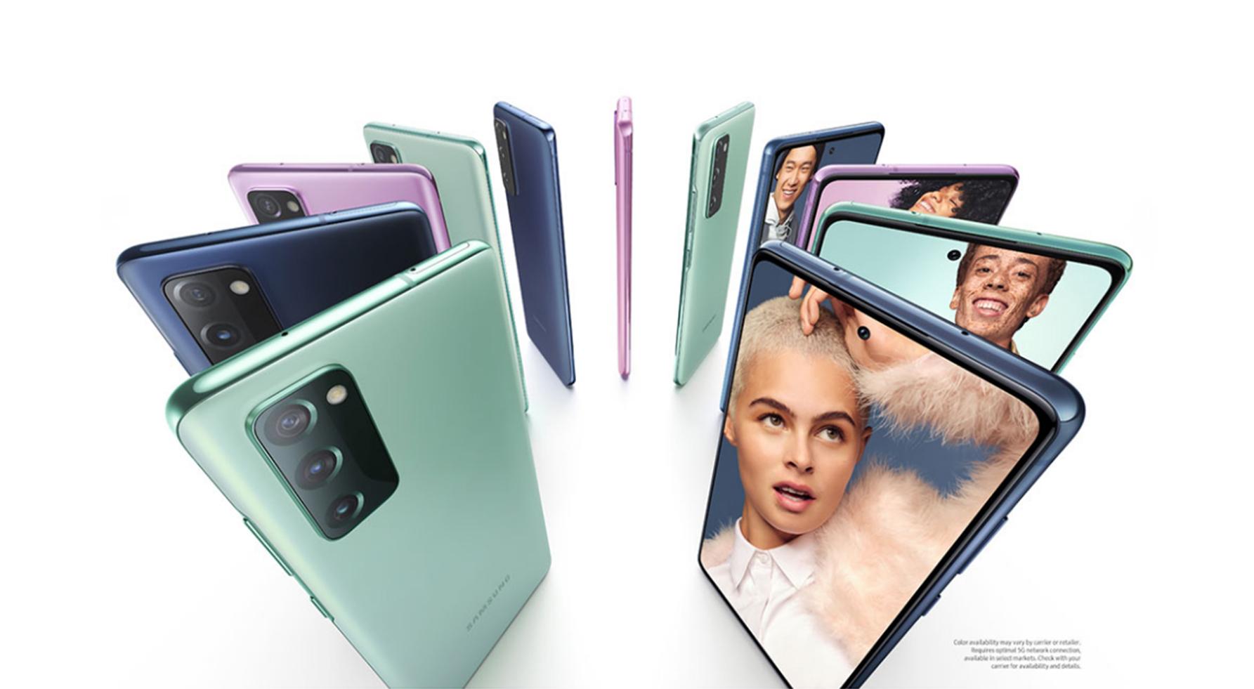 Samsung Galaxy S20 FE officialisé : l'entrée de gamme qui manquait à la série