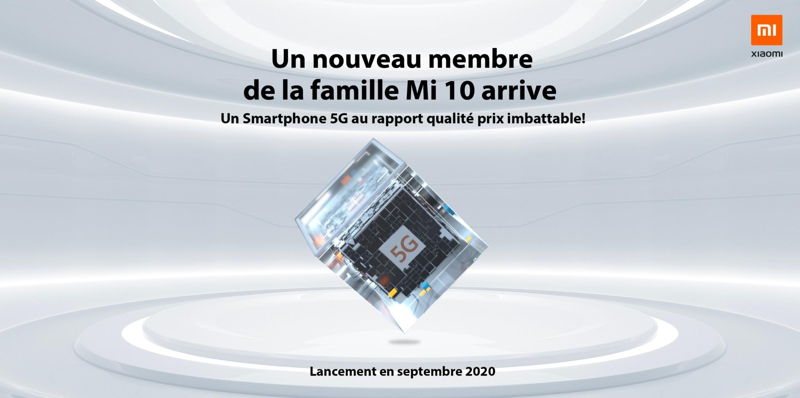 Un Xiaomi Mi 10 pas cher et compatible 5G débarque bientôt en France