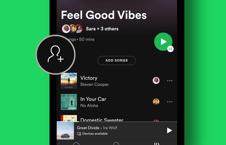 Spotify simplifie la gestion des playlists collaboratives pour vos soirées entre amis