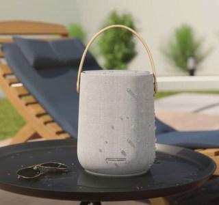 Citation200: Harman Kardon lance une enceinte Wi-Fi nomade au design alléchant