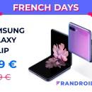 Samsung Galaxy Z Flip : le smartphone pliable passe sous les 1000 euros pour les French Days