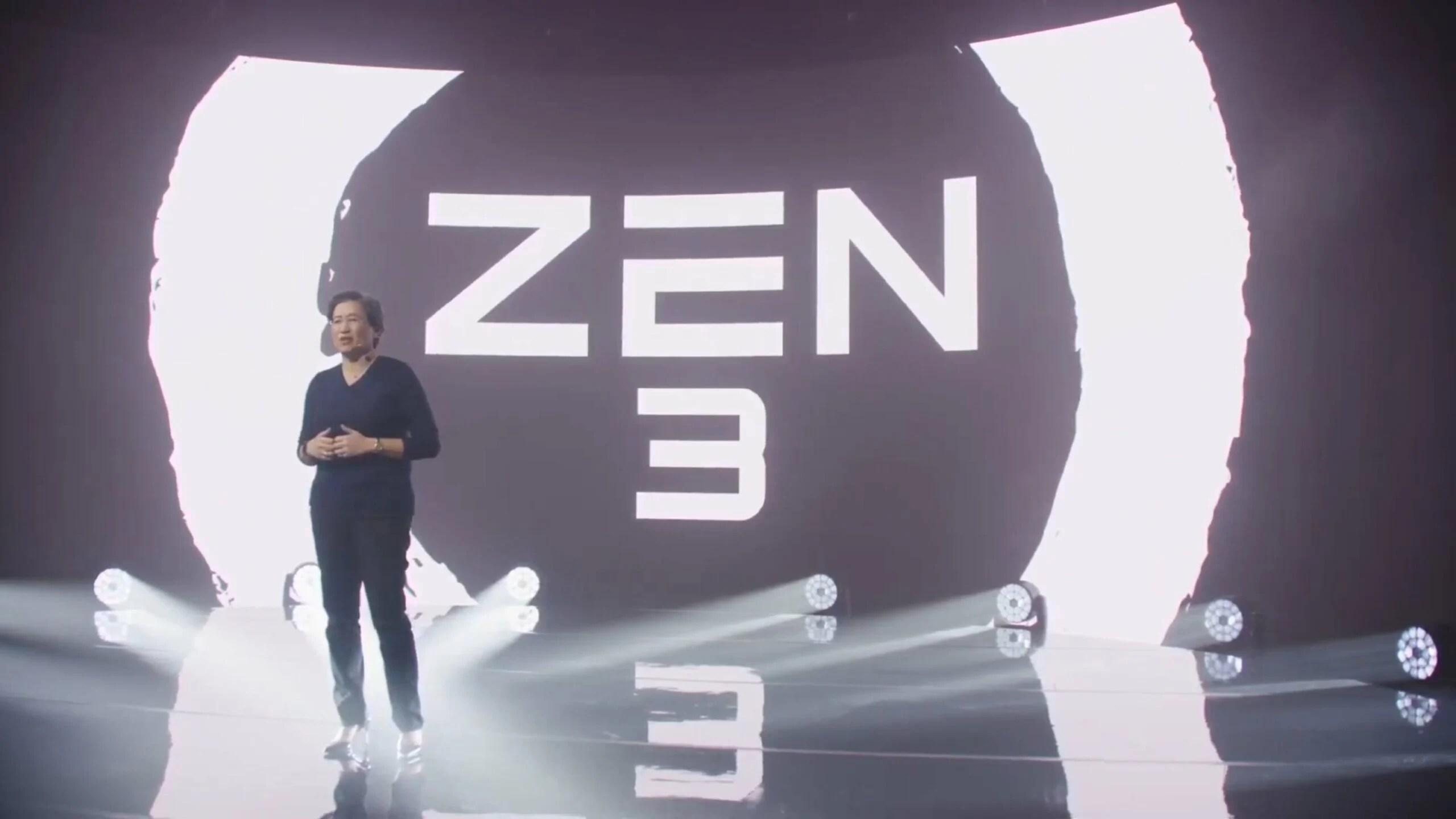Ryzen 5000 : AMD dévoile sa nouvelle gamme de processeurs Zen 3, avec « le meilleur processeur de jeu au monde »