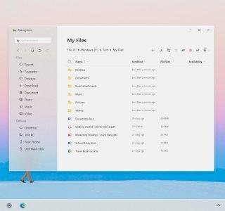 Windows10 ++: Microsoft travaille sur une refonte du design pour 2021, nom de code «Sun Valley»