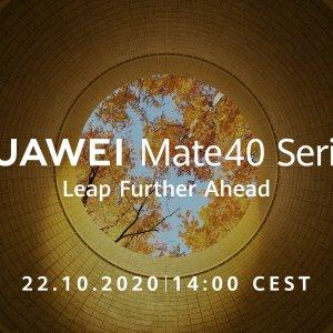 Huawei Mate 40: annonce confirmée pour le 22 octobre avec une «puissance sans précédent»
