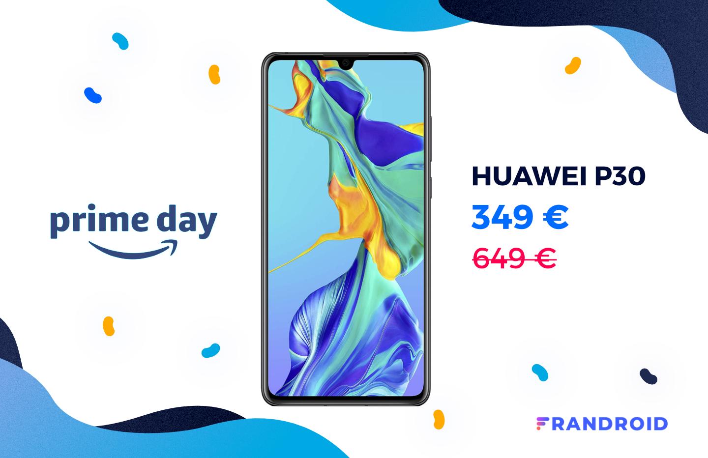 Amazon propose le célèbre Huawei P30 à seulement 349 € pour son Prime Day