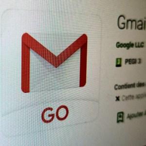 Gmail Go : Google rend son application disponible pour les smartphones Android classiques