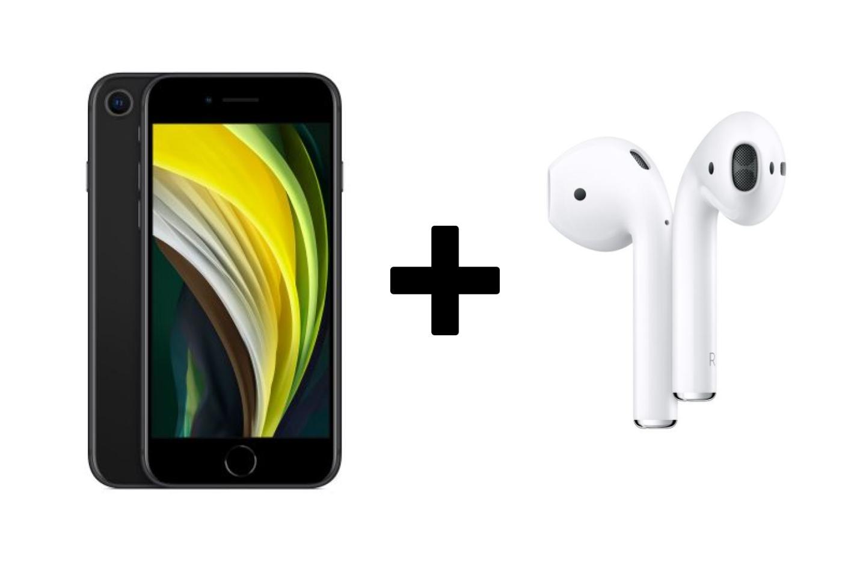 Fnac lance une offre irrésistible pour l'iPhone SE avec les AirPods 2