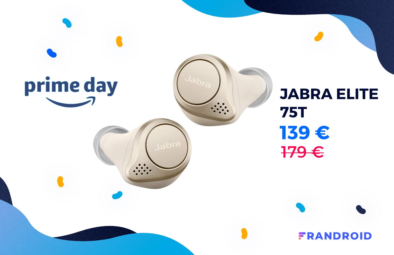 Voici une belle promotion sur les Jabra Elite 75t pour le Prime Day