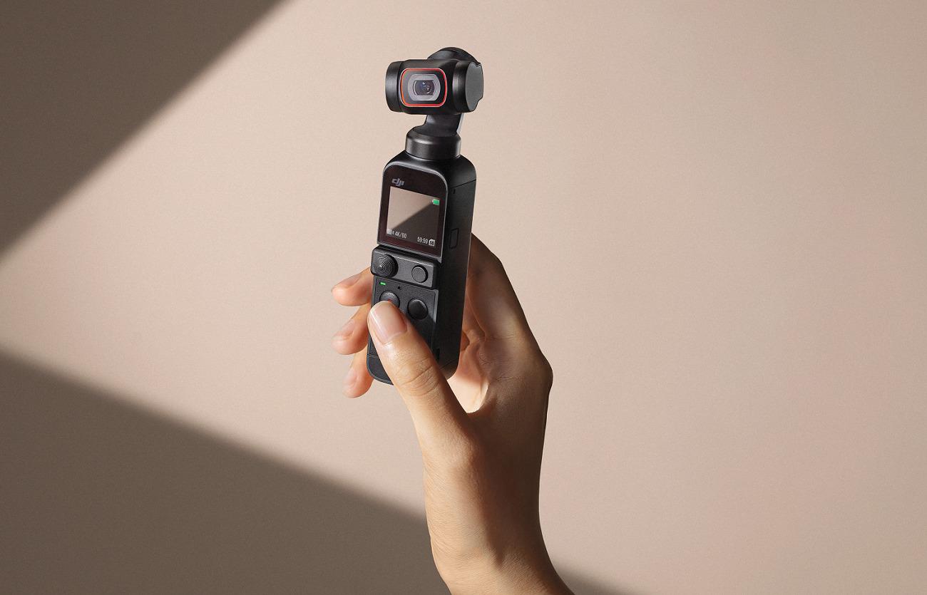 Pocket 2 : DJI dévoile sa nouvelle action cam, héritière de l'Osmo Pocket
