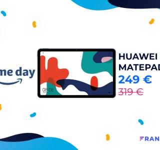 Amazon fait passer la tablette Huawei MatePad sous les 250 euros