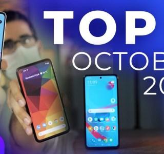 Les 3 meilleurs smartphones d'octobre 2020 sur Frandroid
