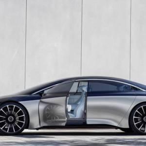 Mercedes EQS: un écran incurvé XXL s'inviterait dans la berline électrique