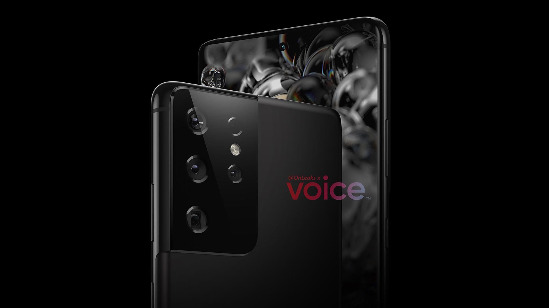 Samsung Galaxy S21 Ultra: un nouveau rendu montre un capteur mystère