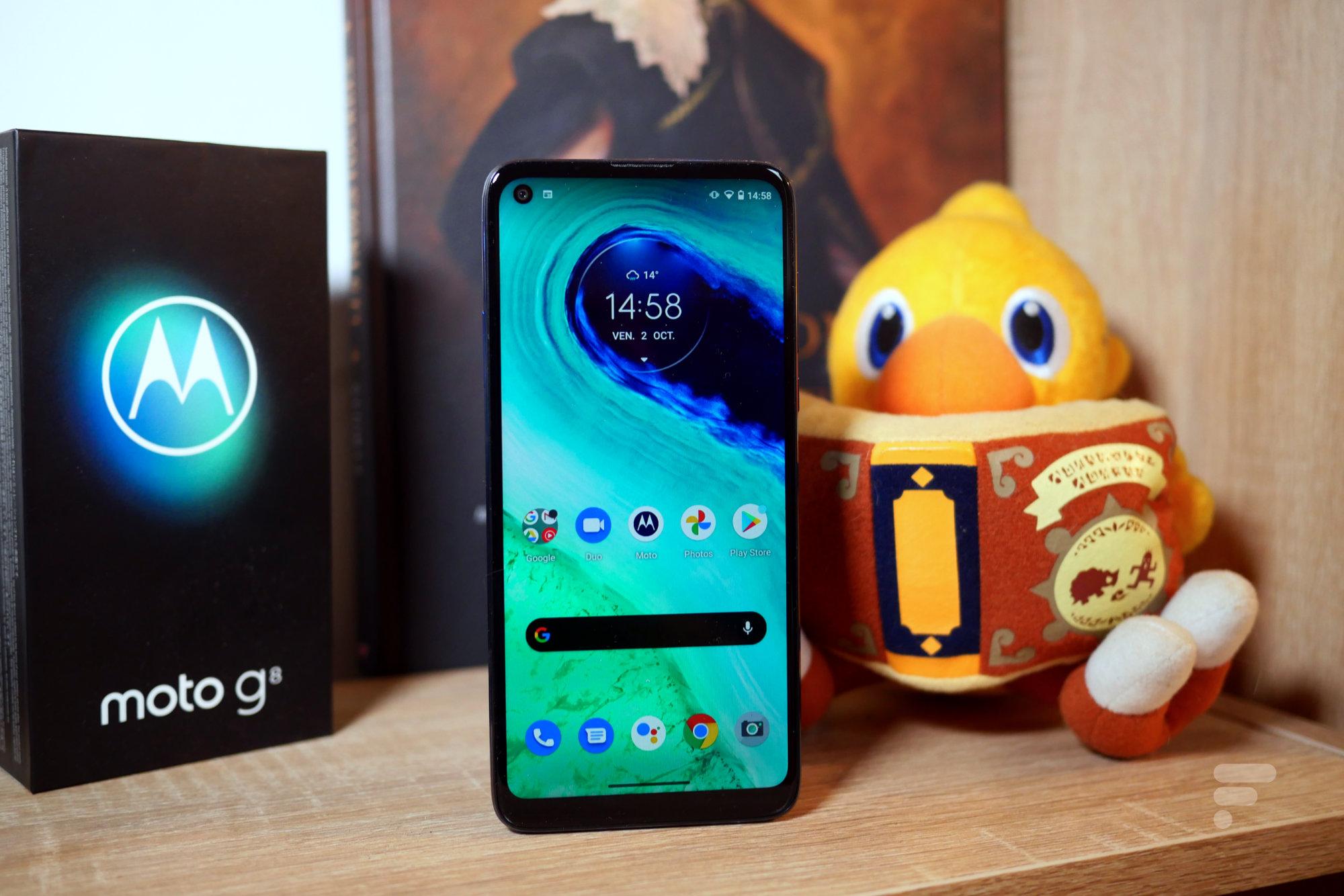 Test du Motorola Moto G8: il aurait pu être un concurrent sérieux