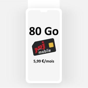 80 Go pour seulement 5,99€/mois grâce à ce forfait mobile en série limitée [dernier jour]
