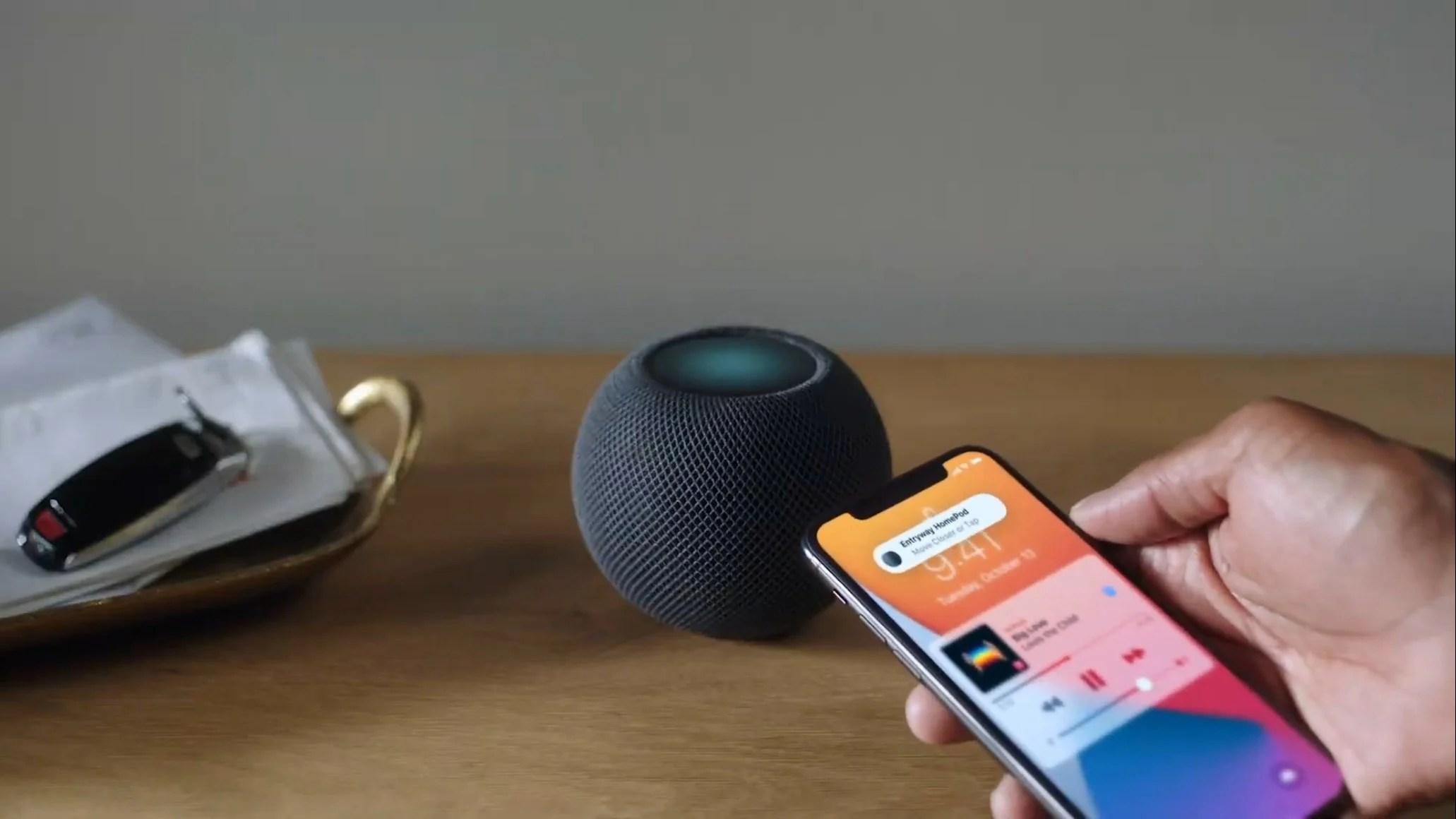 iOS 14.1 : Apple lance son nouveau Siri, Intercom et le multi-utilisateur sur le HomePod