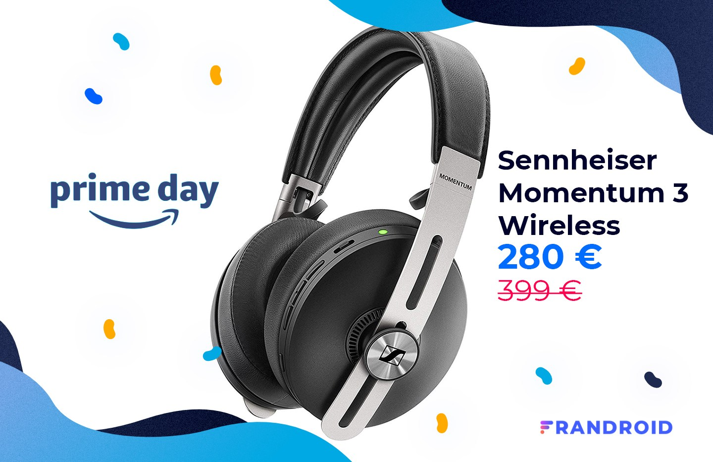 Prime Day, c'est aussi le Sennheiser Momentum 3 Wireless à – 30 % !