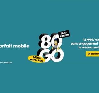 Sosh prolonge son forfait mobile en série limitée sans prix qui double après un an