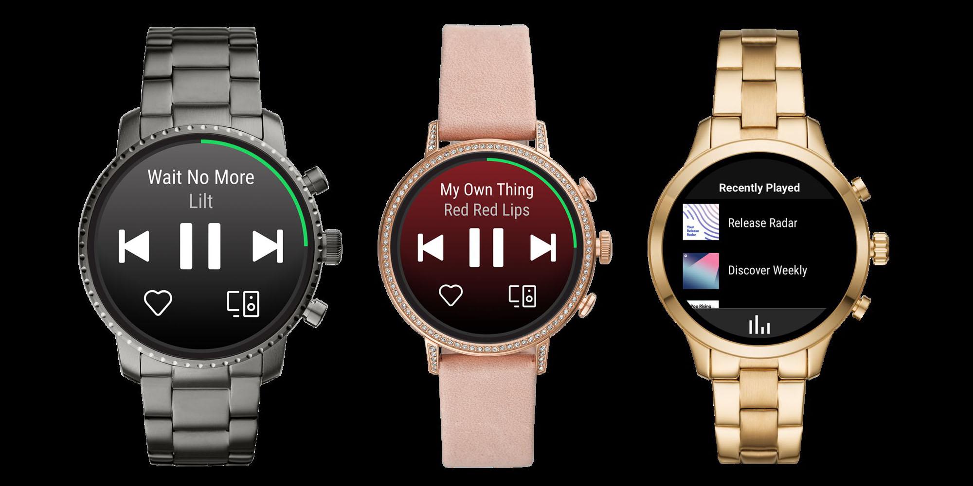 Spotify: bientôt le téléchargement de musiques et podcasts sur Wear OS