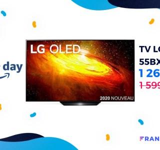Le téléviseur LG OLED BX 6 en 55 pouces est à -21 % lors du Prime Day