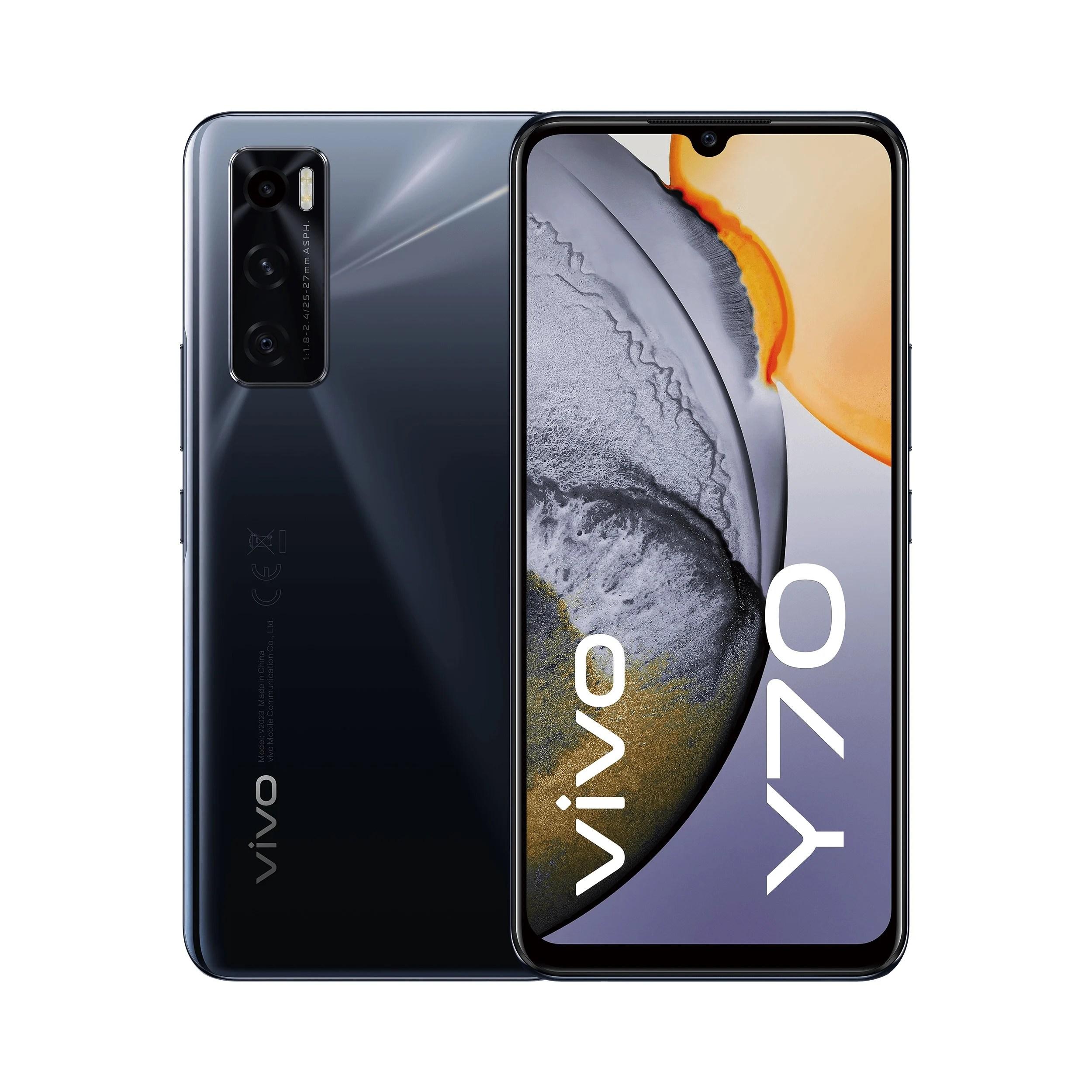 Vivo Y70, Y20s et Y11s : trois smartphones aux prix agressifs pour son offensive européenne