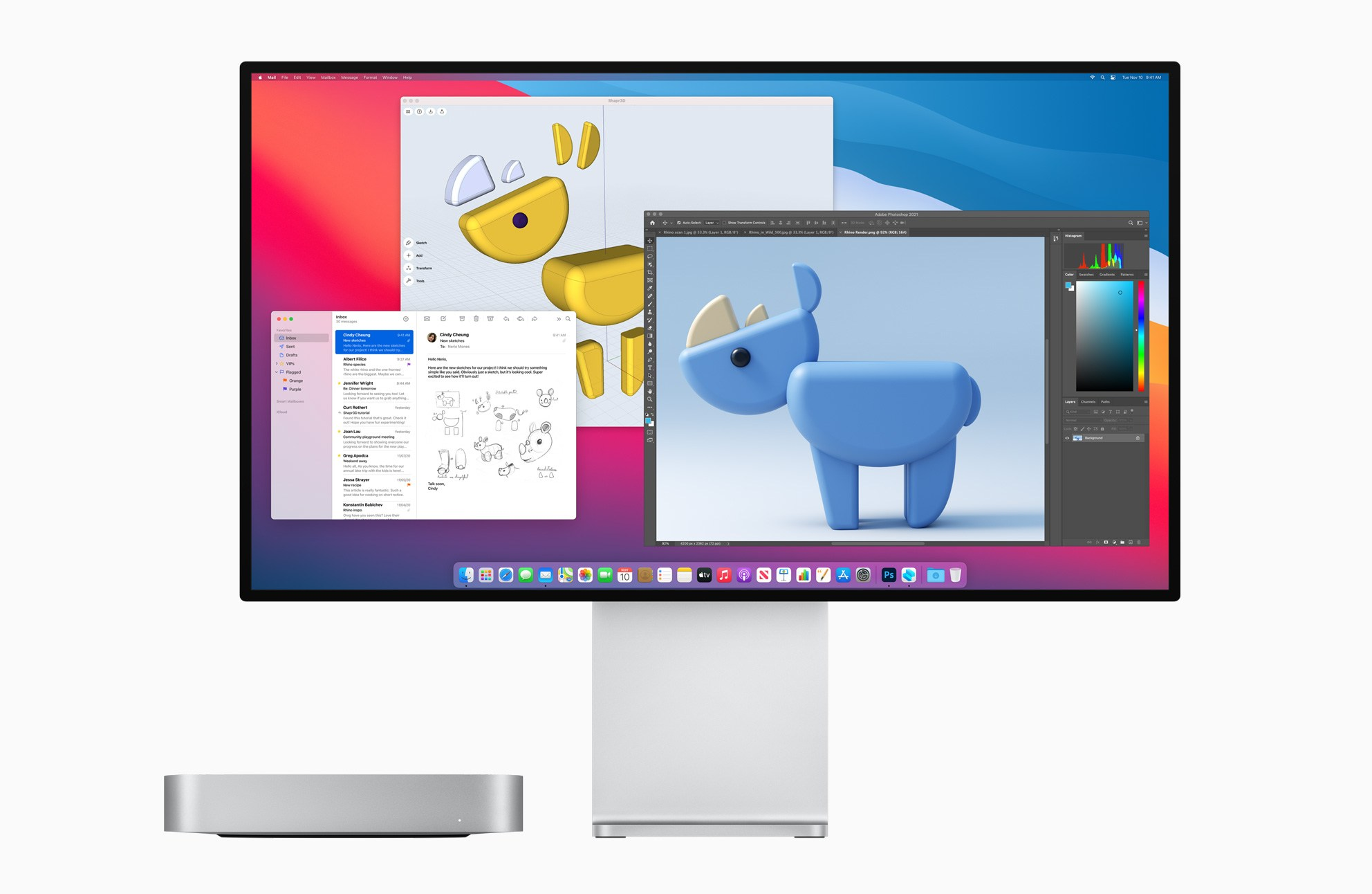 Mieux vaut tard que jamais, le Mac mini M1 a enfin l'Ethernet 10 Gigabit en option