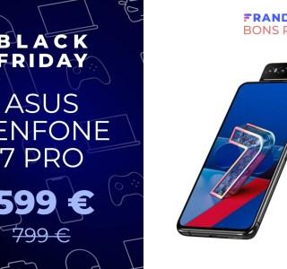 Le prix du Asus Zenfone 7 Pro est plus acceptable pendant le Black Friday