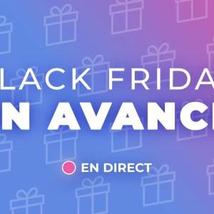 Les meilleures offres de ce week-end du Black Friday