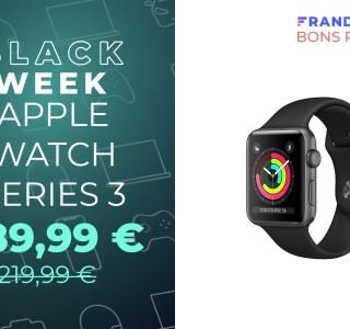 À 189 euros, l'Apple Watch Series 3 est la montre connectée la plus abordable de la Pomme
