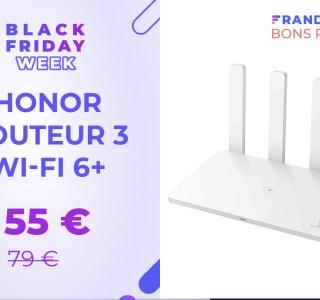 Ce routeur compatible Wi-Fi 6 n'est qu'à 55 € pour le Black Friday