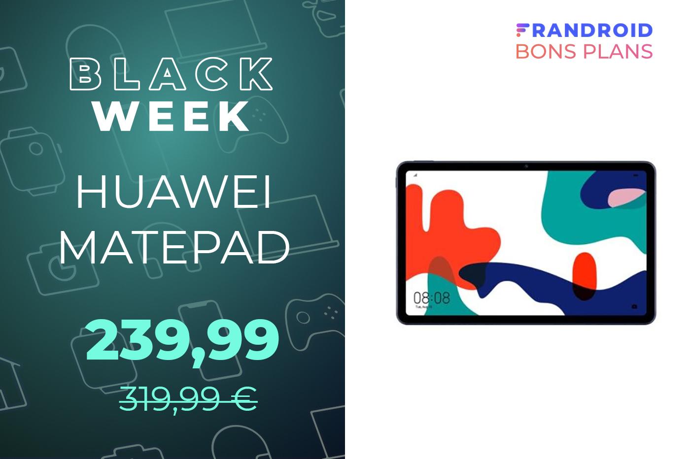 La tablette Huawei MatePad 10,4 pouces se prend -26% de réduction !