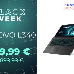 Jouez sans vous ruiner avec le PC portable gaming Lenovo L340 à -33 %