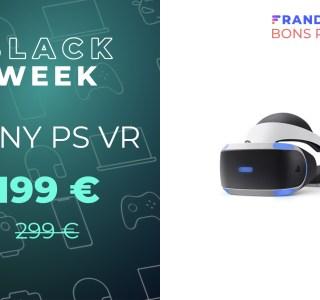 Le PlayStation VR voit son prix s'alléger dans un pack à -33 %