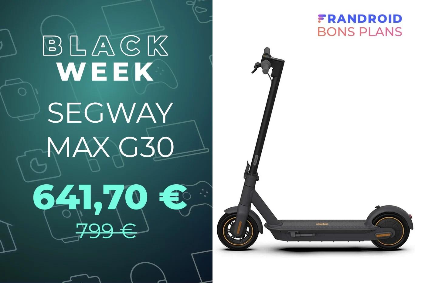 L'excellente trottinette électrique Segway Max G30 est à -20% sur Amazon