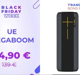 L'explosive UE Megaboom est à -46 % pour le Black Friday