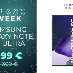Amazon casse le prix de l'excellent Samsung Galaxy Note 20 Ultra