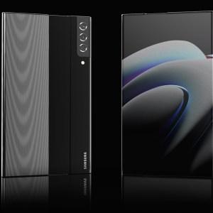 Samsung : voilà à quoi pourrait ressembler le smartphone à écran déroulable
